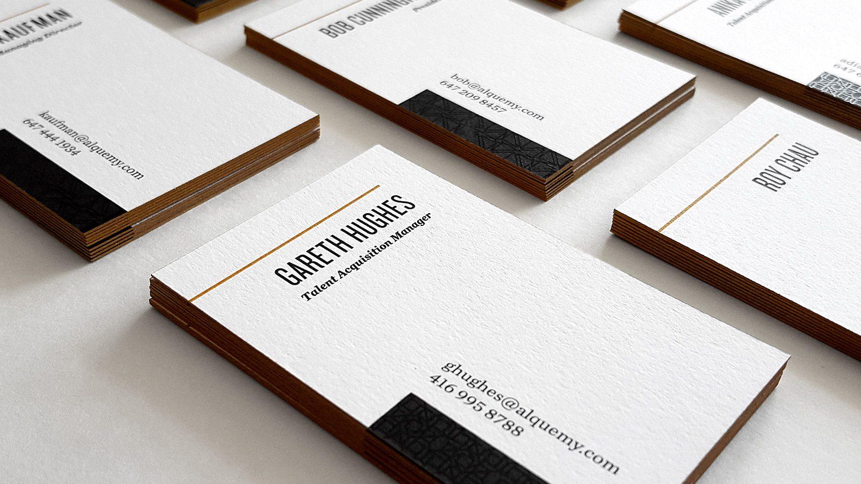 Alquemy Business Card Design by Furia