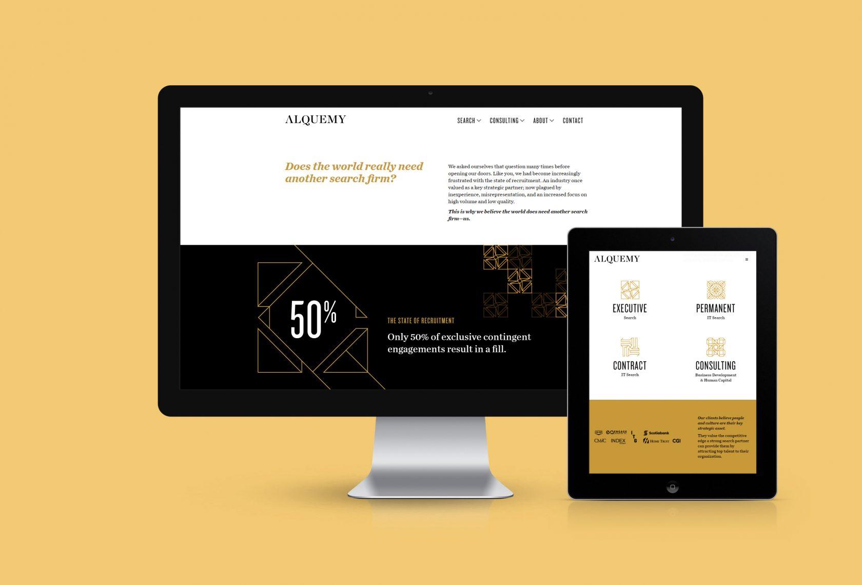 Alquemy Website Design and Development by Furia