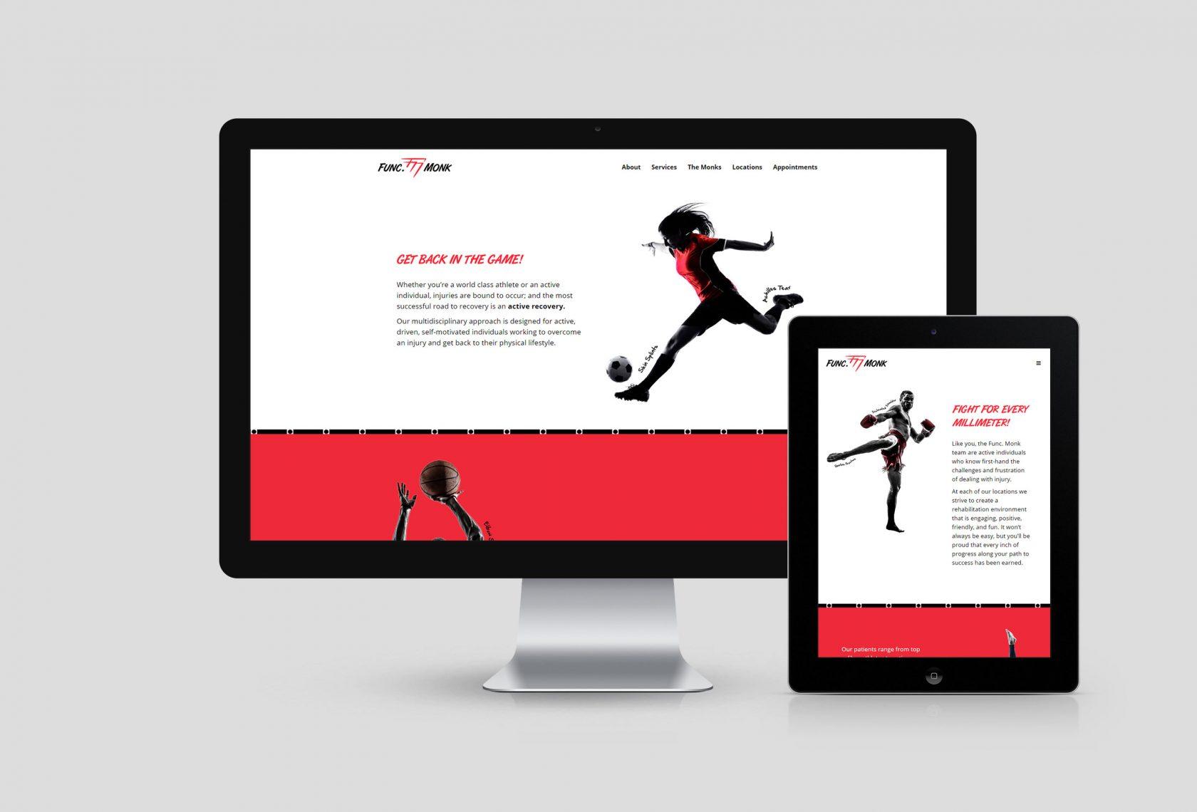 Func Monk Website Development by Furia