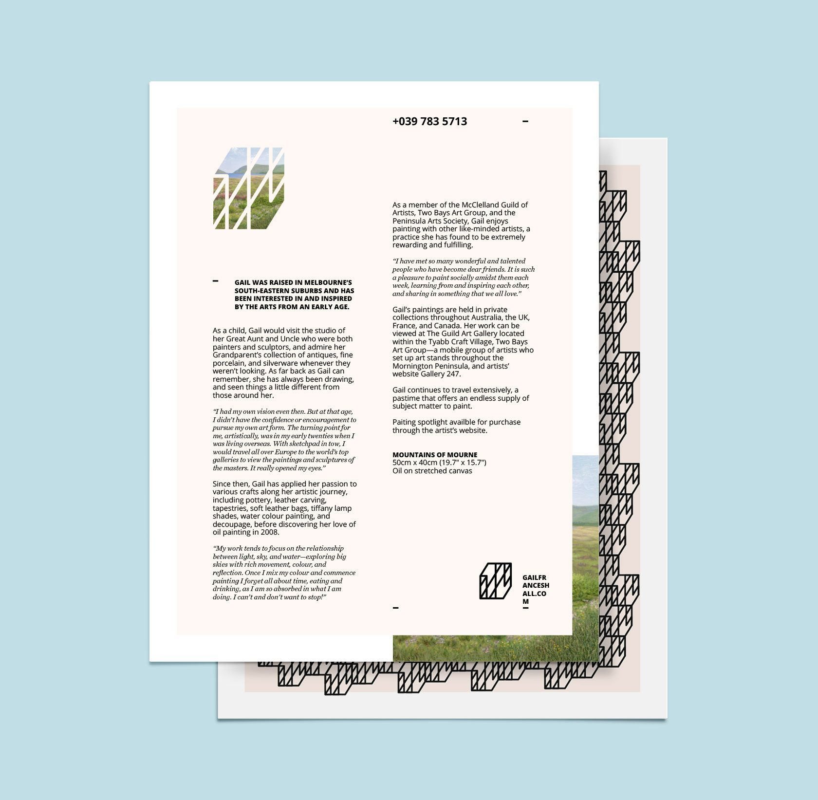 GFH Letterhead Design by Furia
