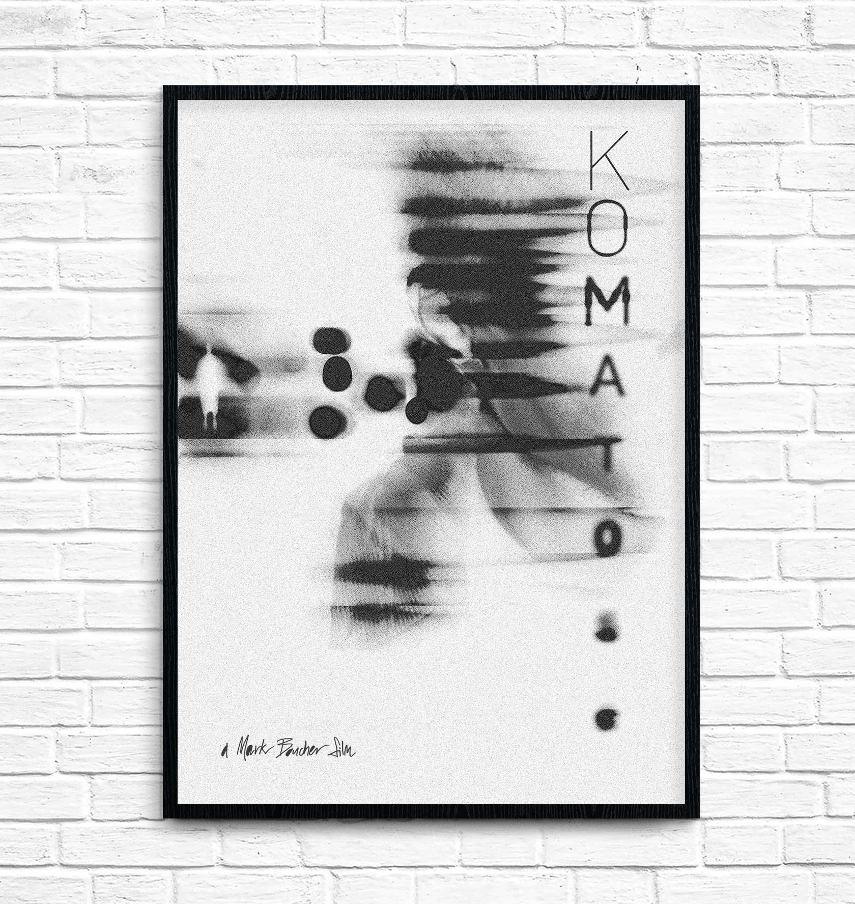 Komatose Film Poster 4 by Furia