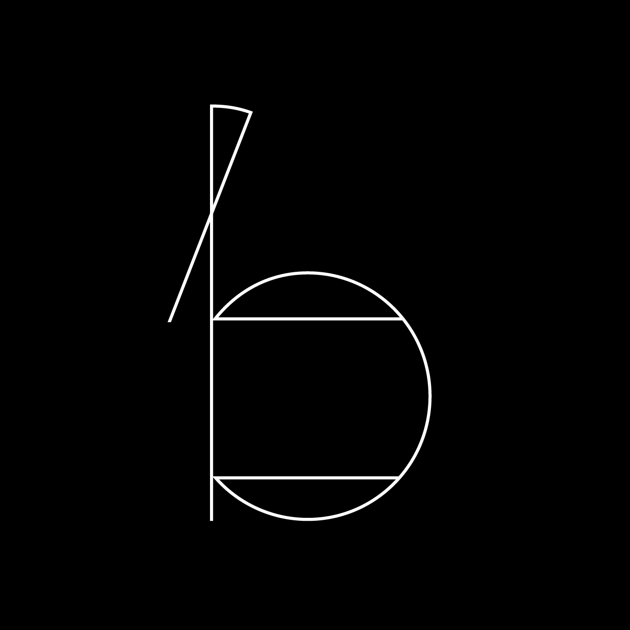 Letter B5 design by Furia