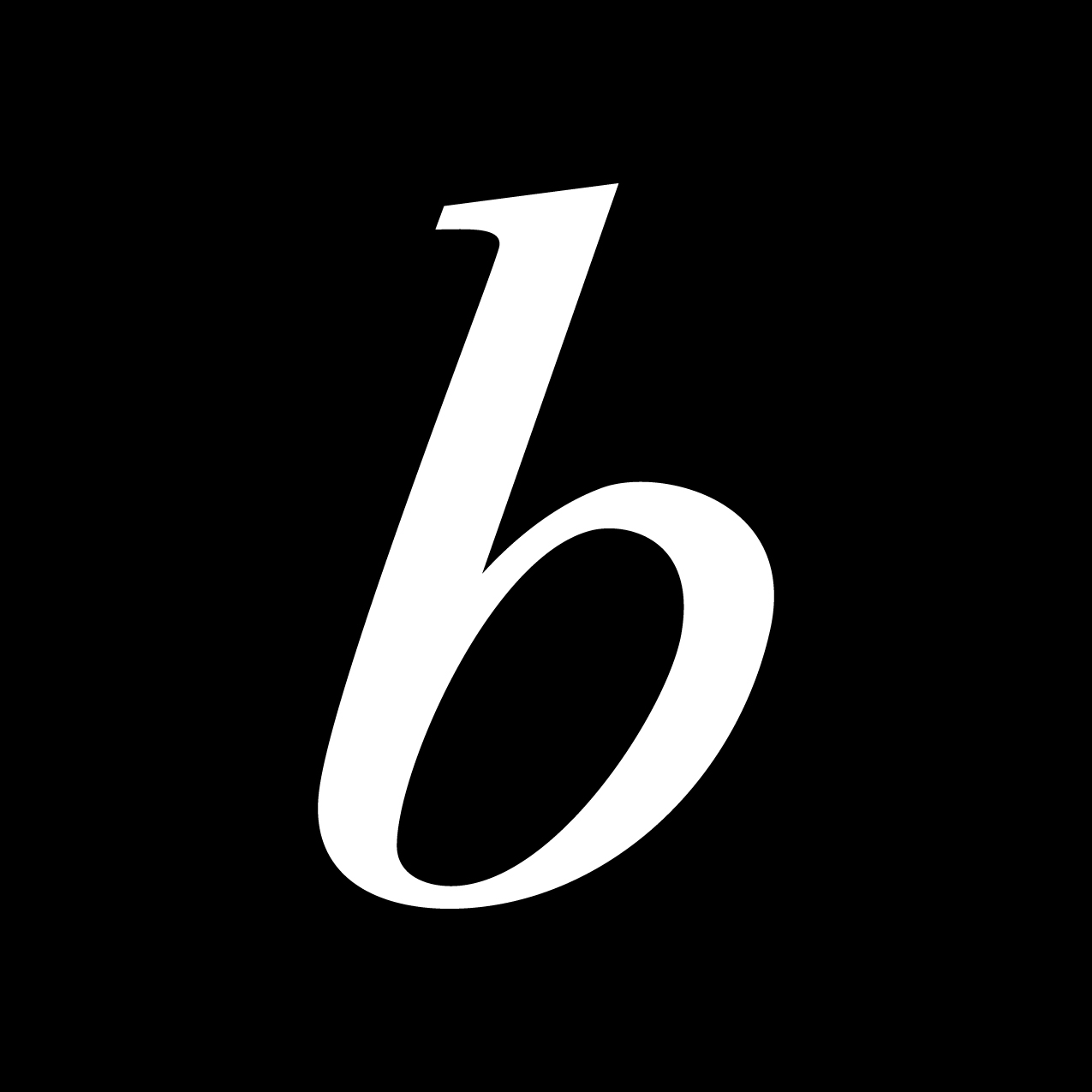 Letter B6 design by Furia