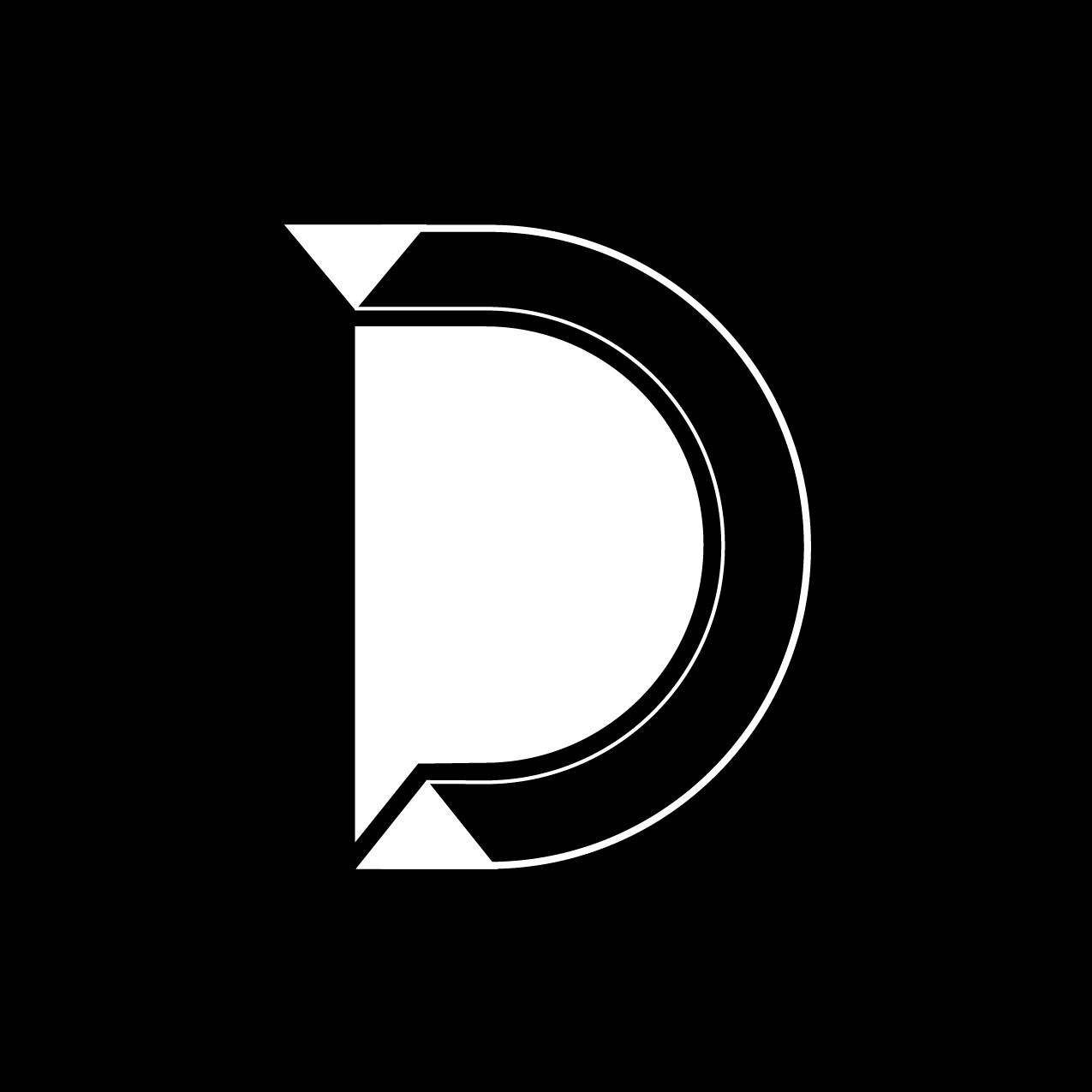 Letter D6 design by Furia