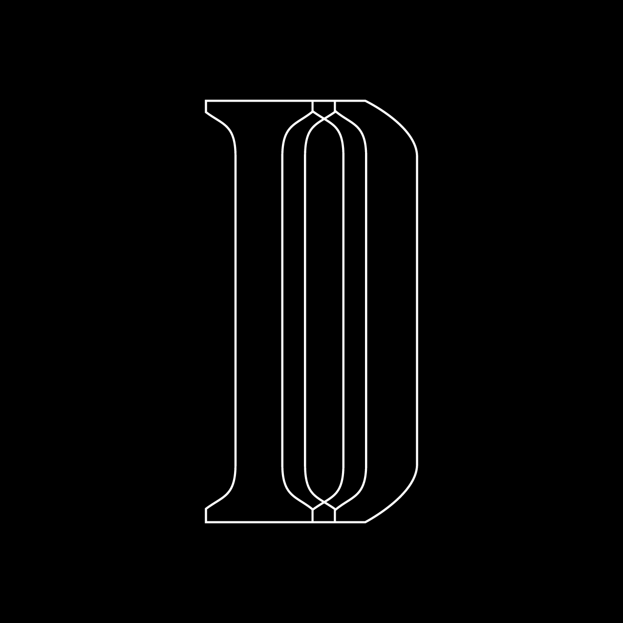Letter D7 design by Furia