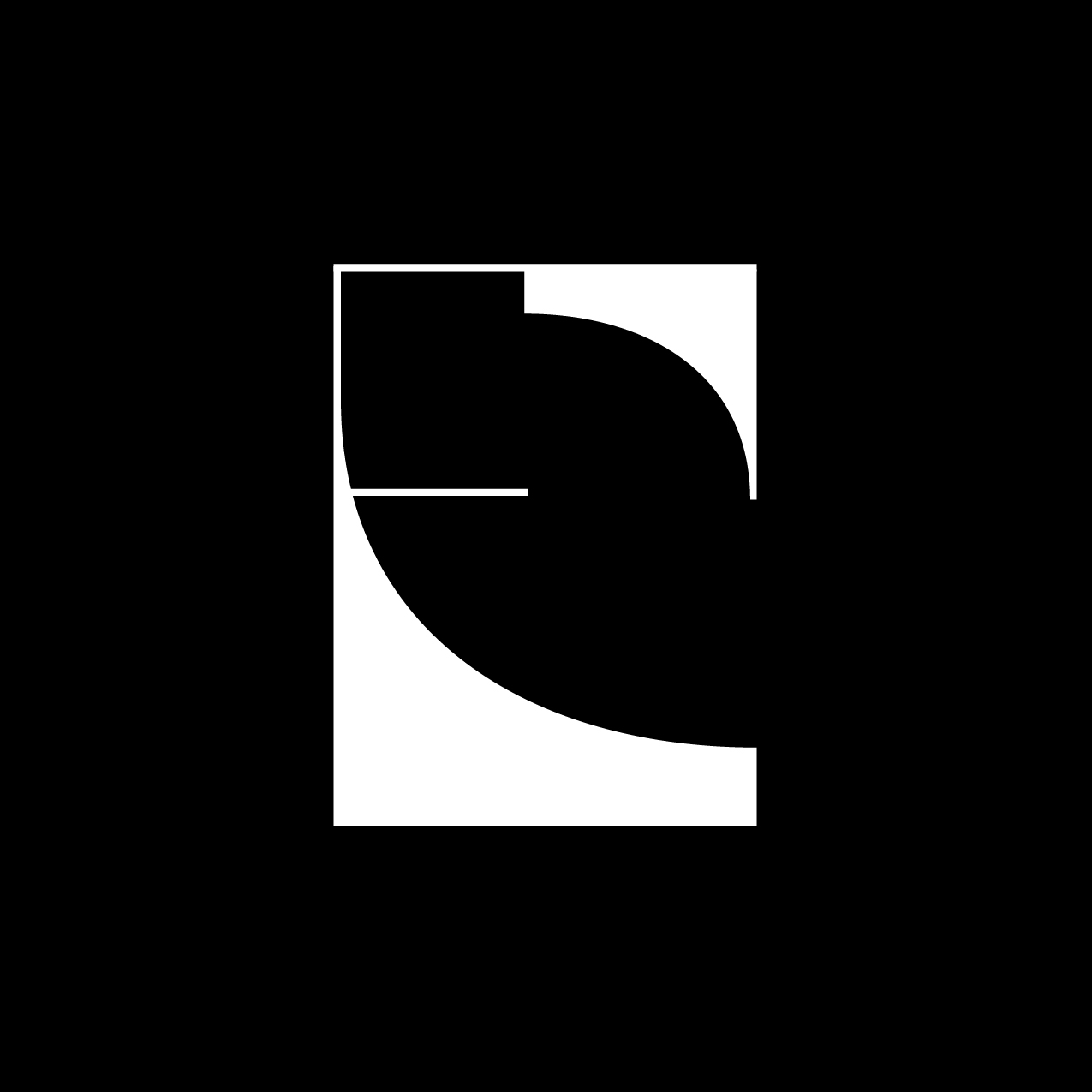 Letter E13 design by Furia