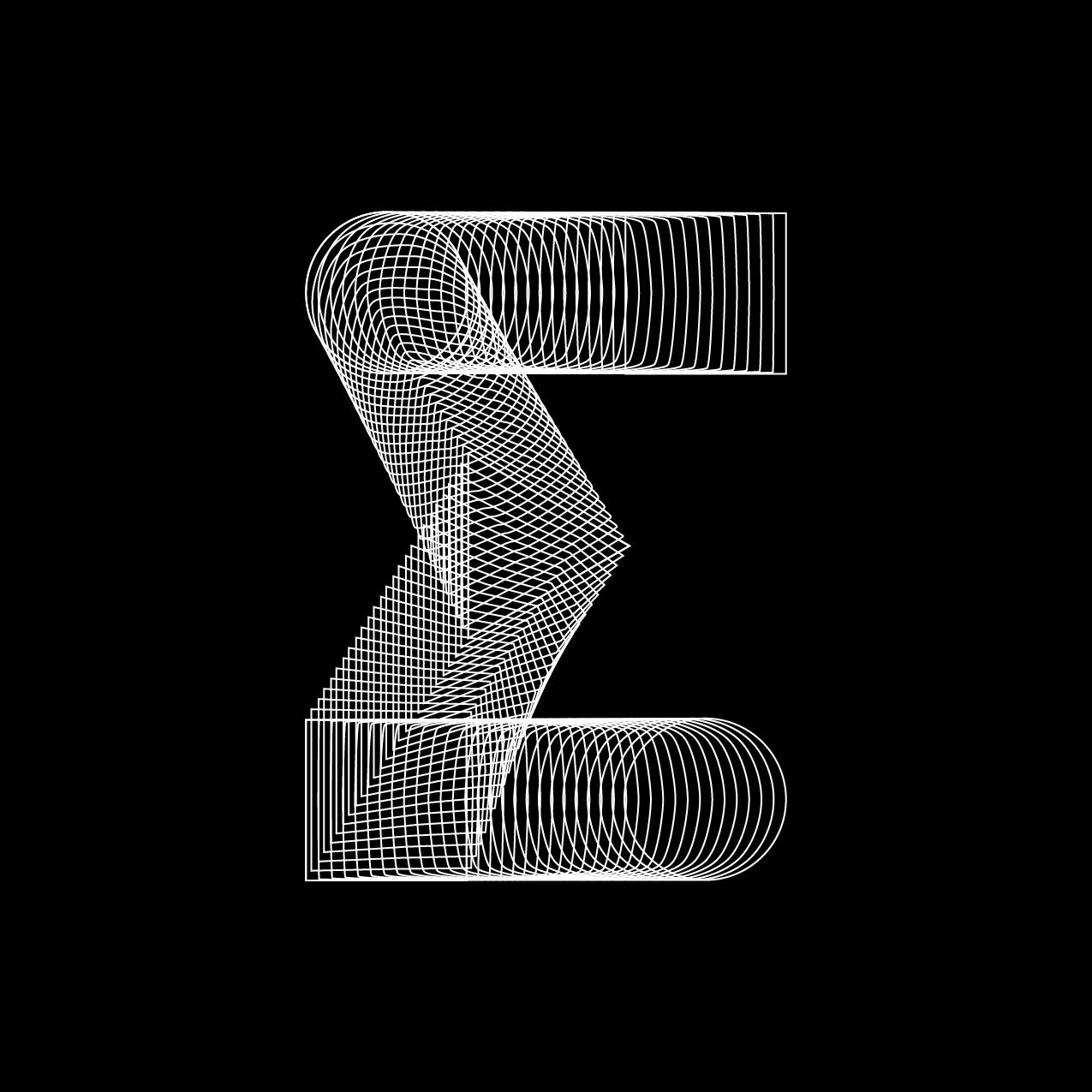 Letter E7 design by Furia