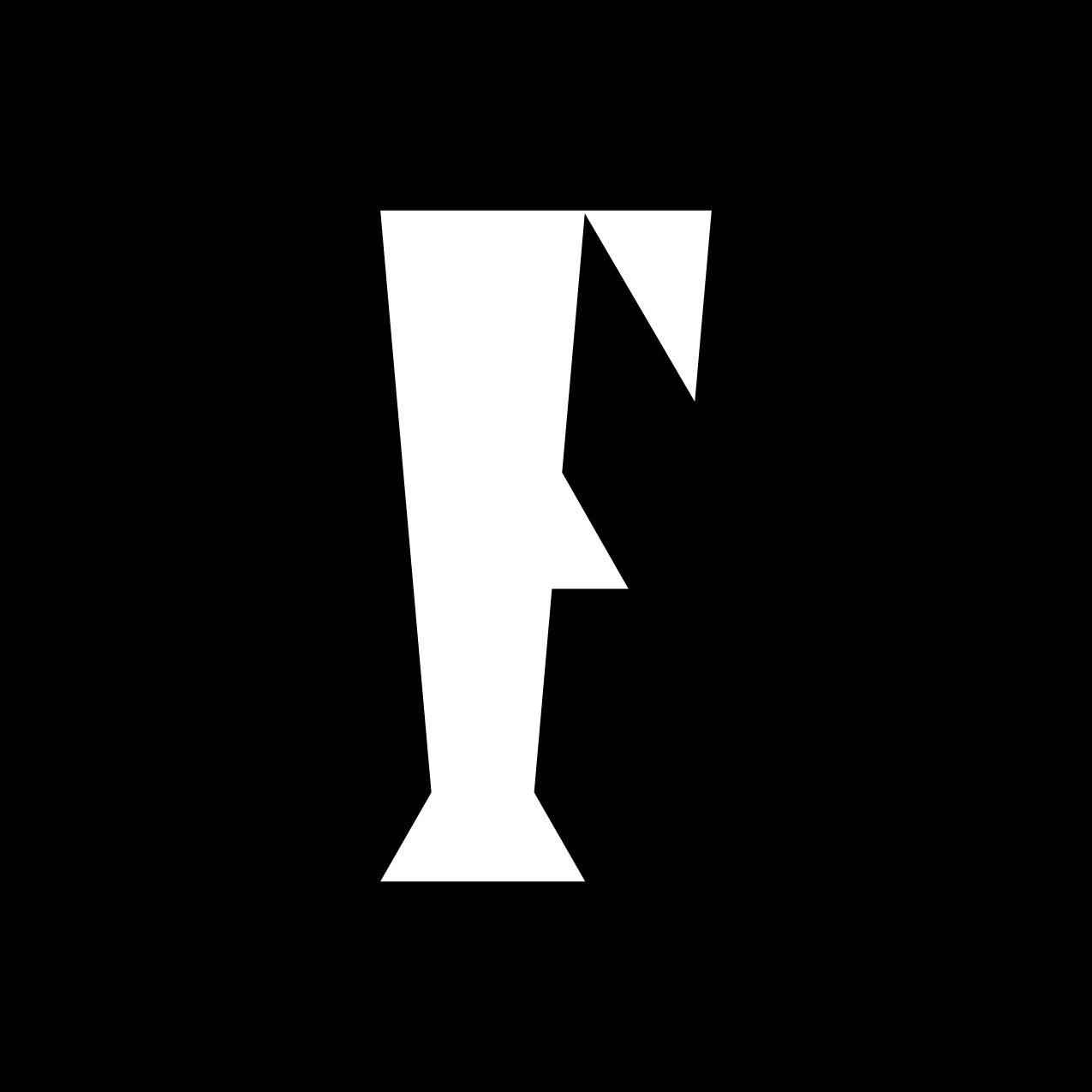 Letter F1 design by Furia