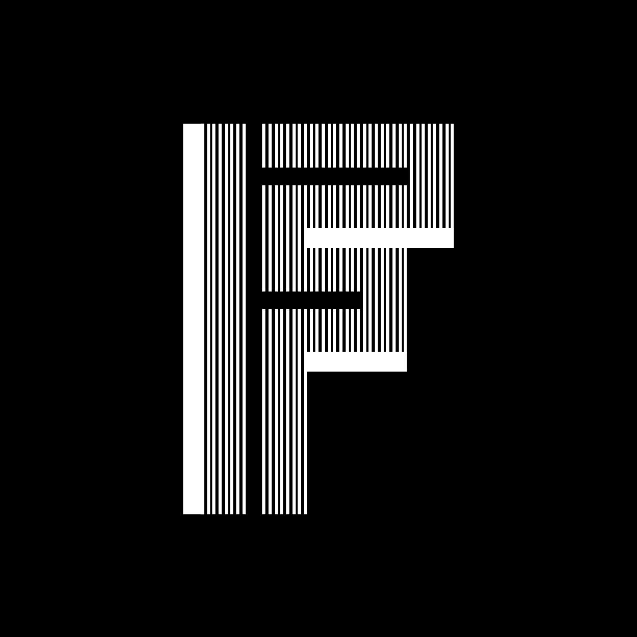 Letter F12 design by Furia