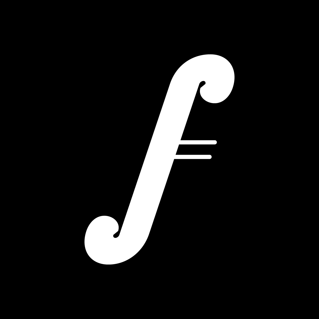 Letter F3 design by Furia