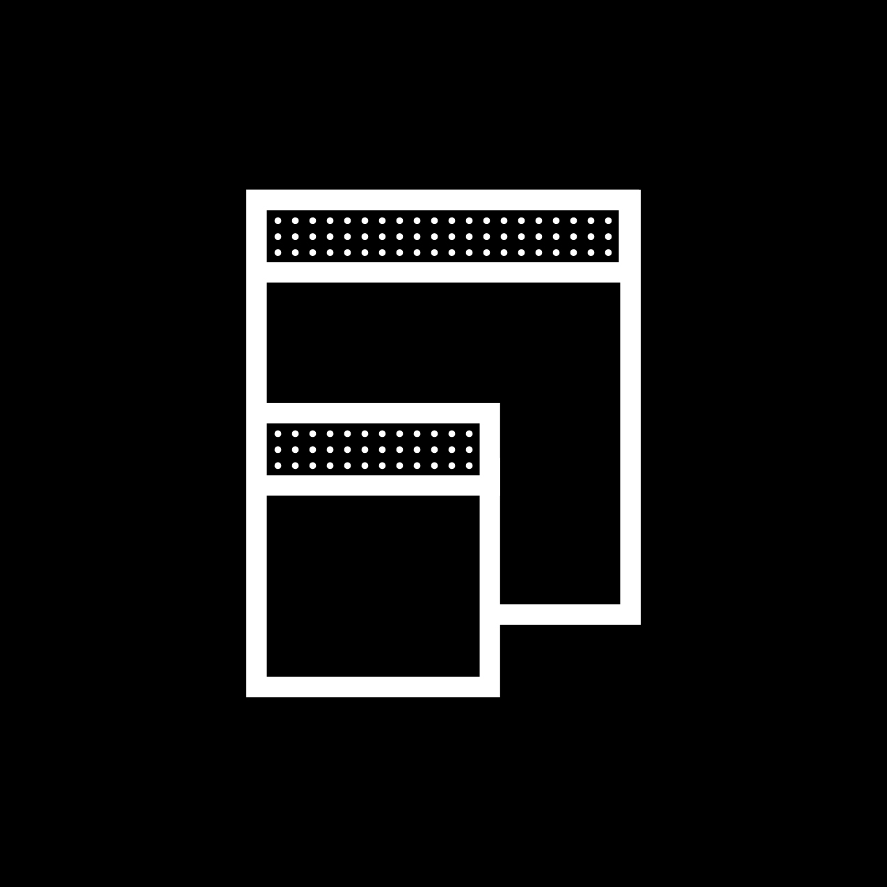 Letter F4 design by Furia