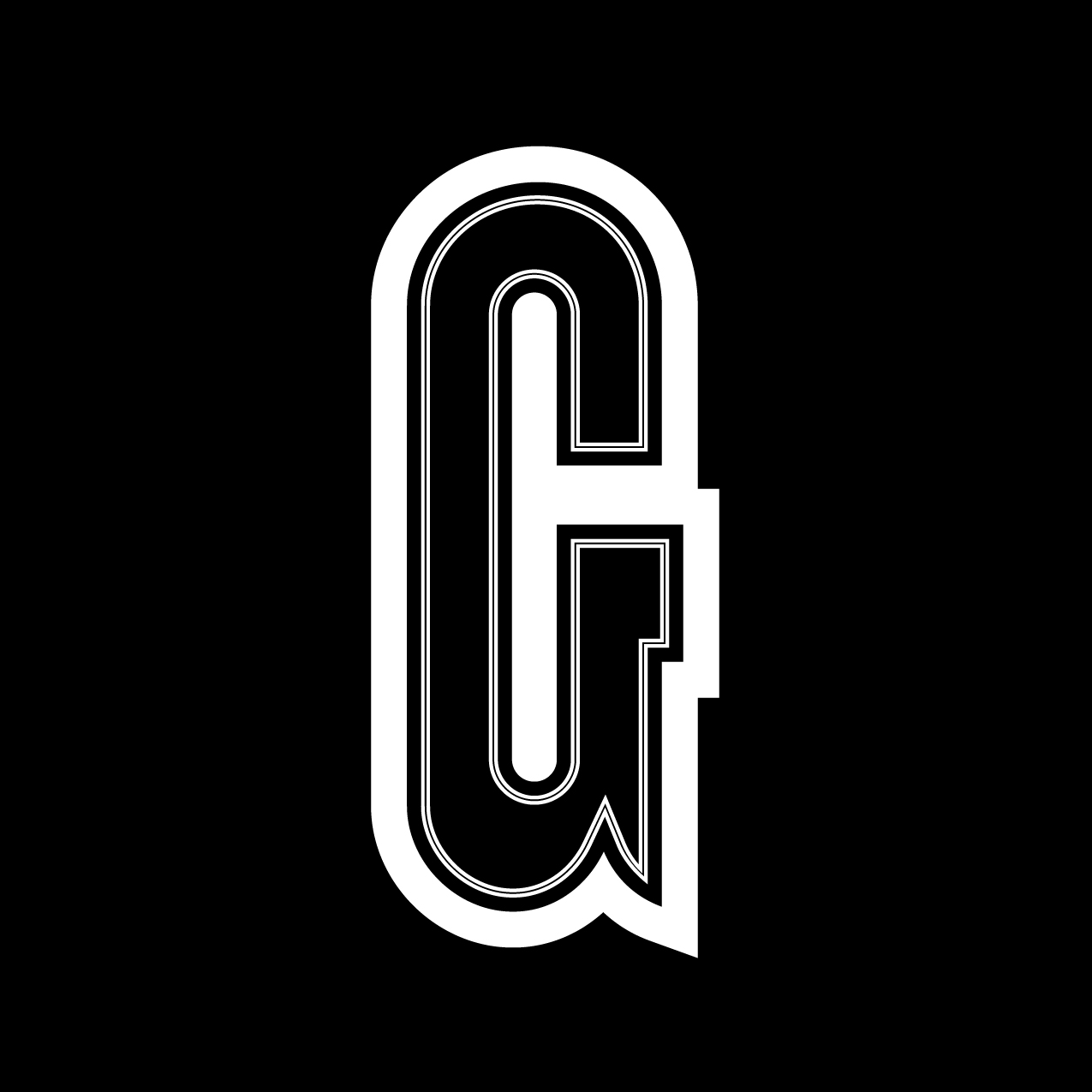 Letter G1 design by Furia
