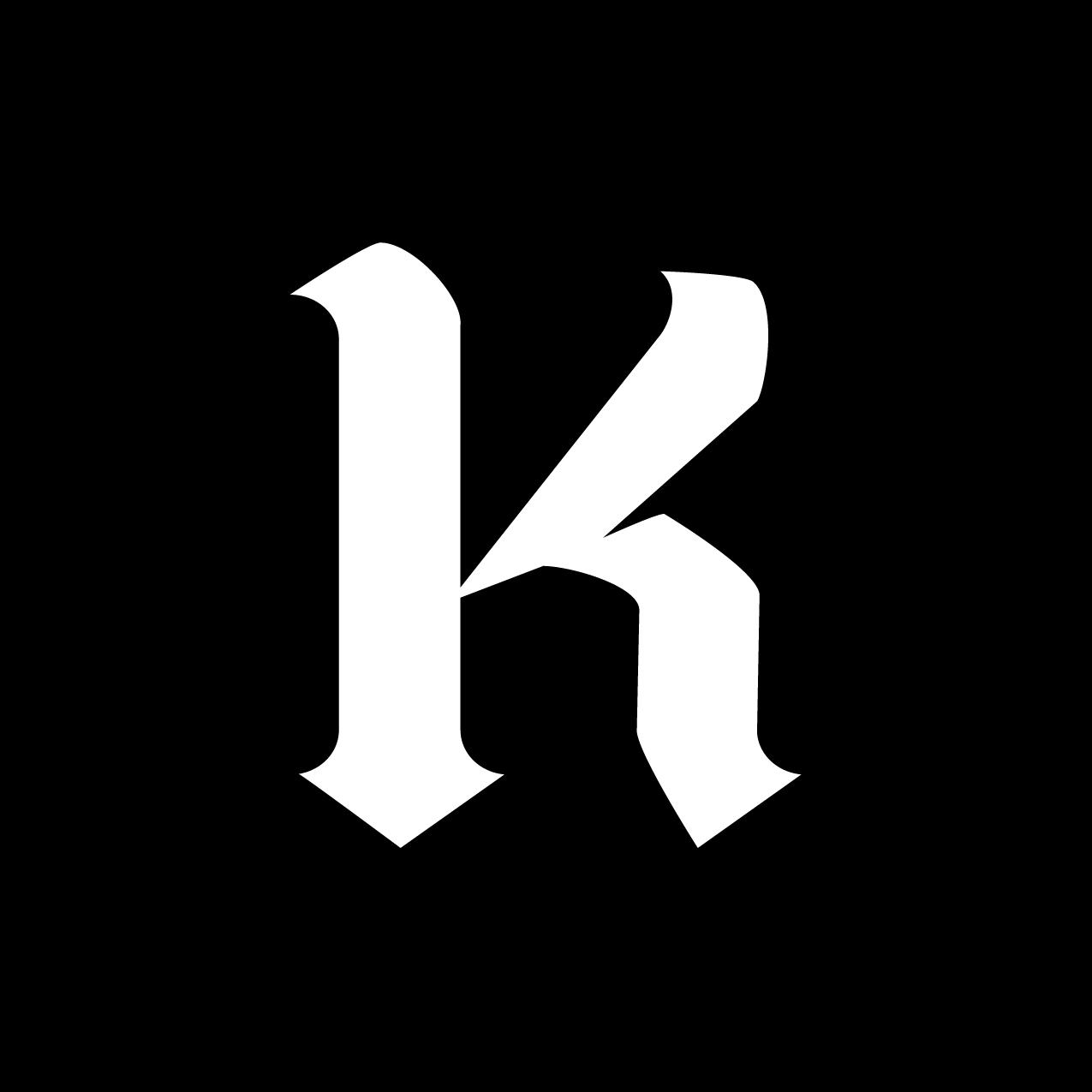 Letter K12 Design by Furia