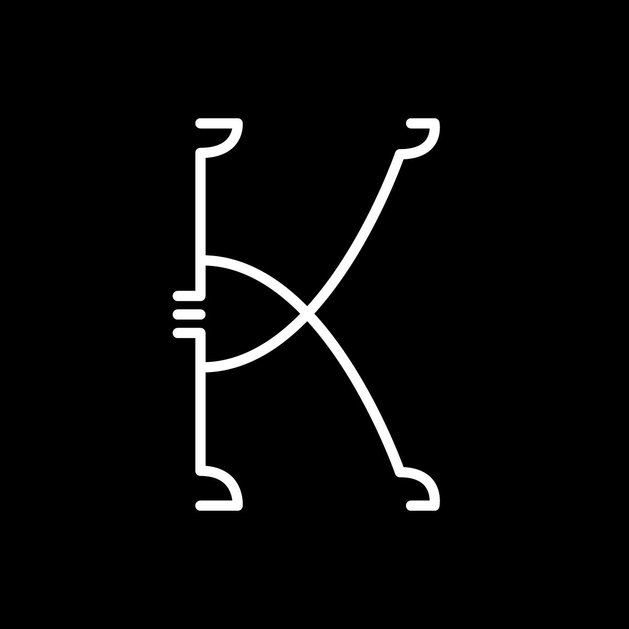 Letter K4 Design by Furia