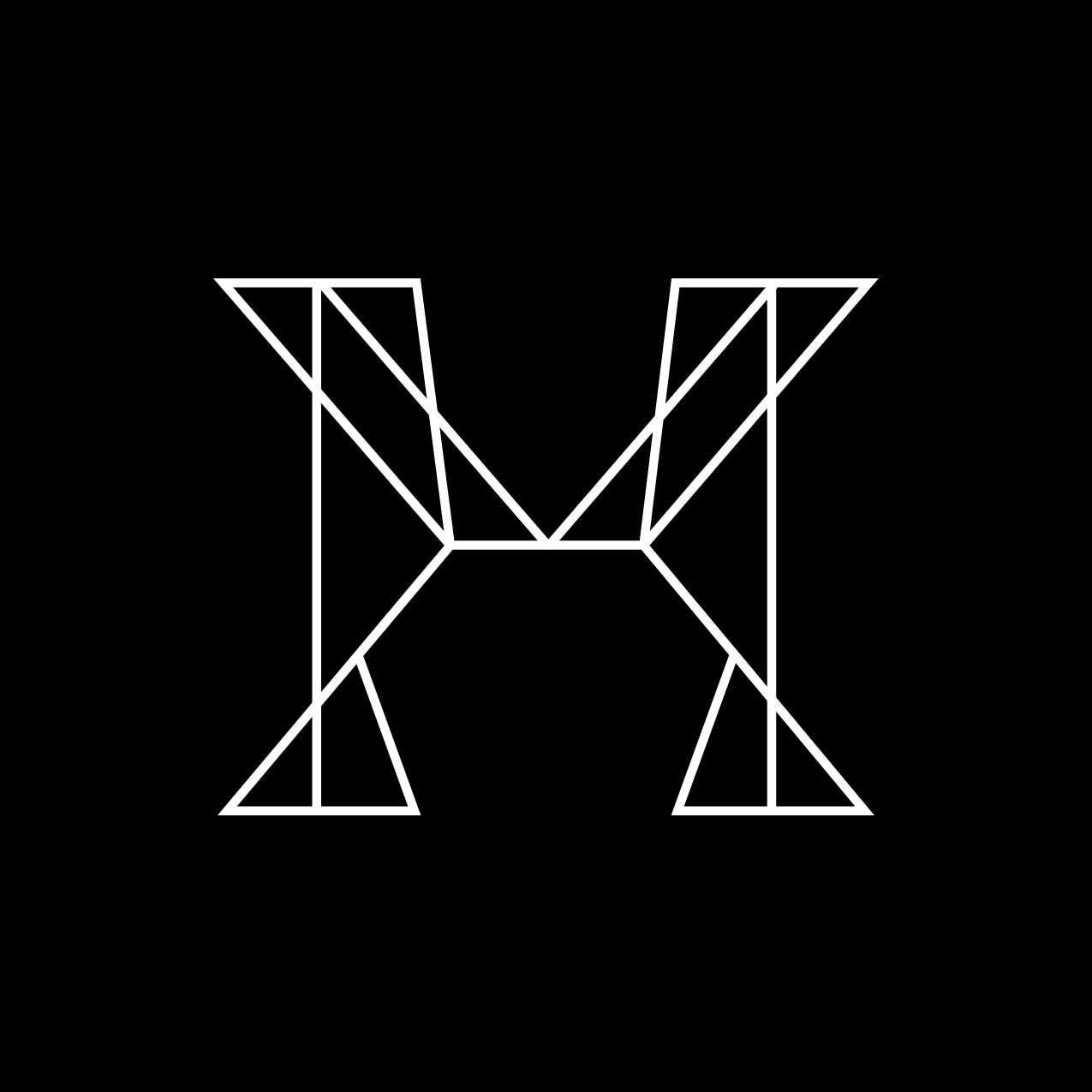 Letter M1 Design by Furia