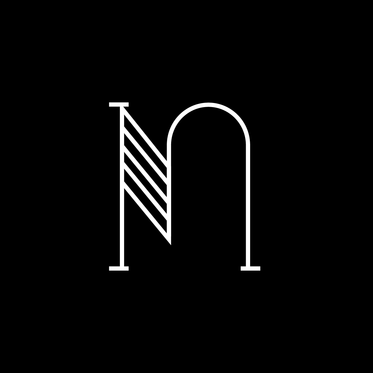 Letter N1 Design by Furia