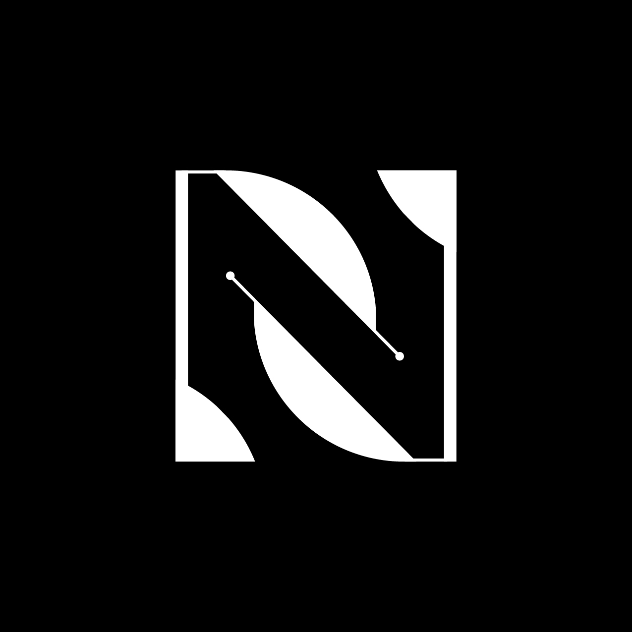 Letter N2 Design by Furia