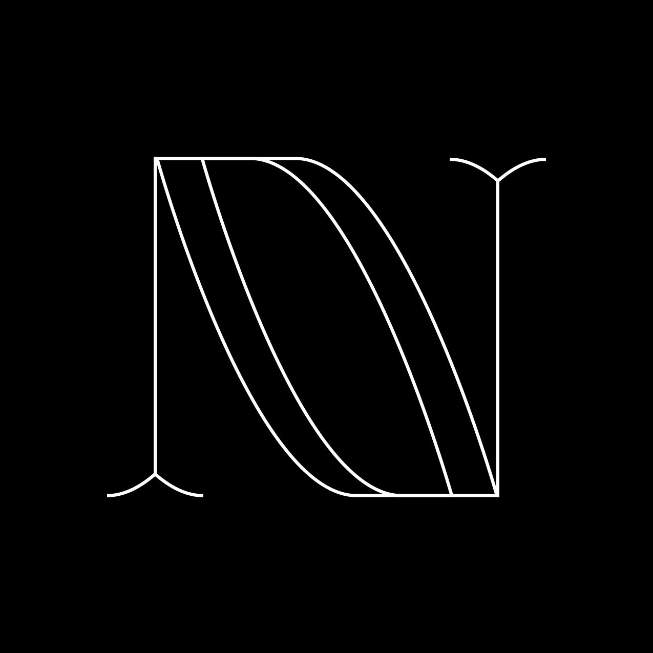 Letter N6 Design by Furia