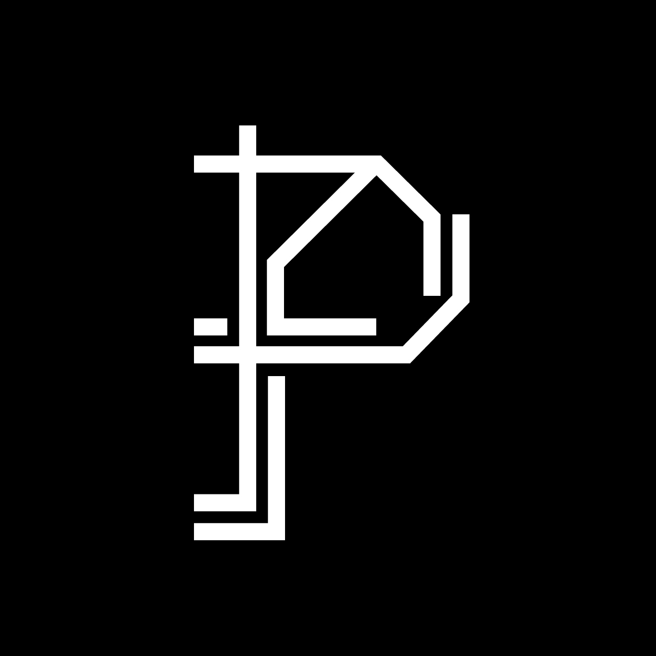 Letter P4 Design by Furia