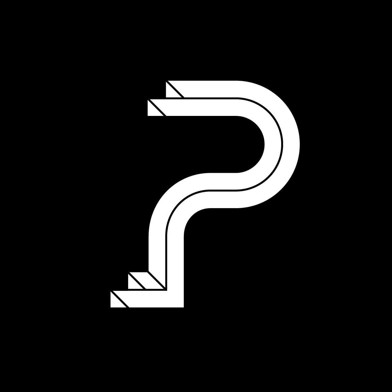 Letter P8 Design by Furia