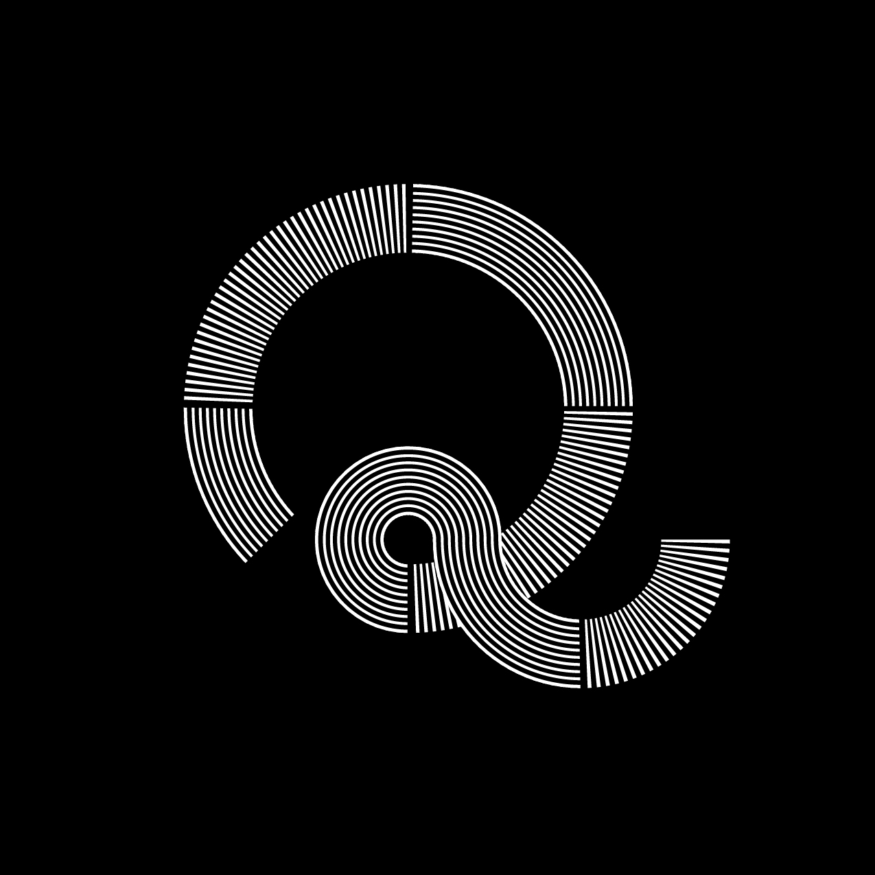 Letter Q1 Design by Furia