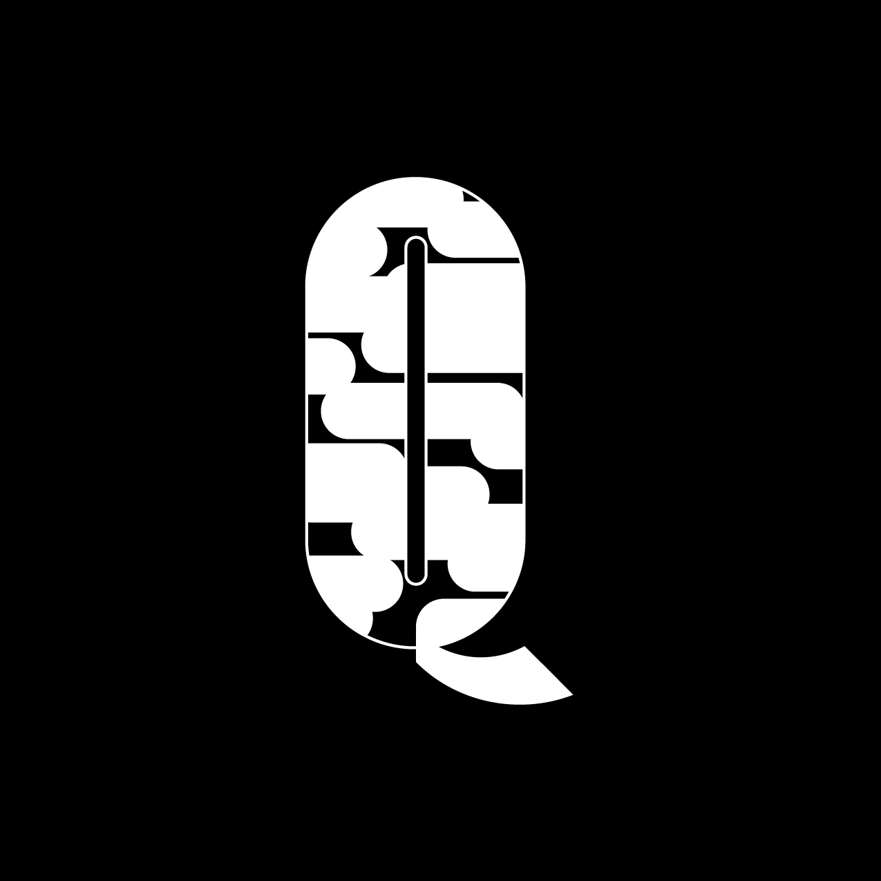 Letter Q8 Design by Furia