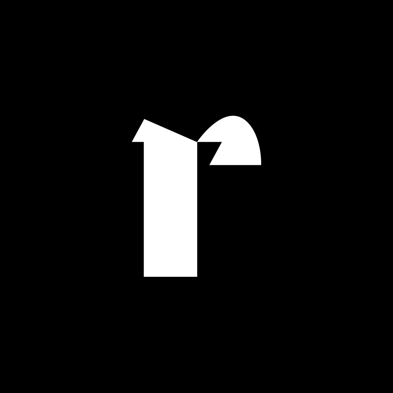 Letter R13 Design by Furia