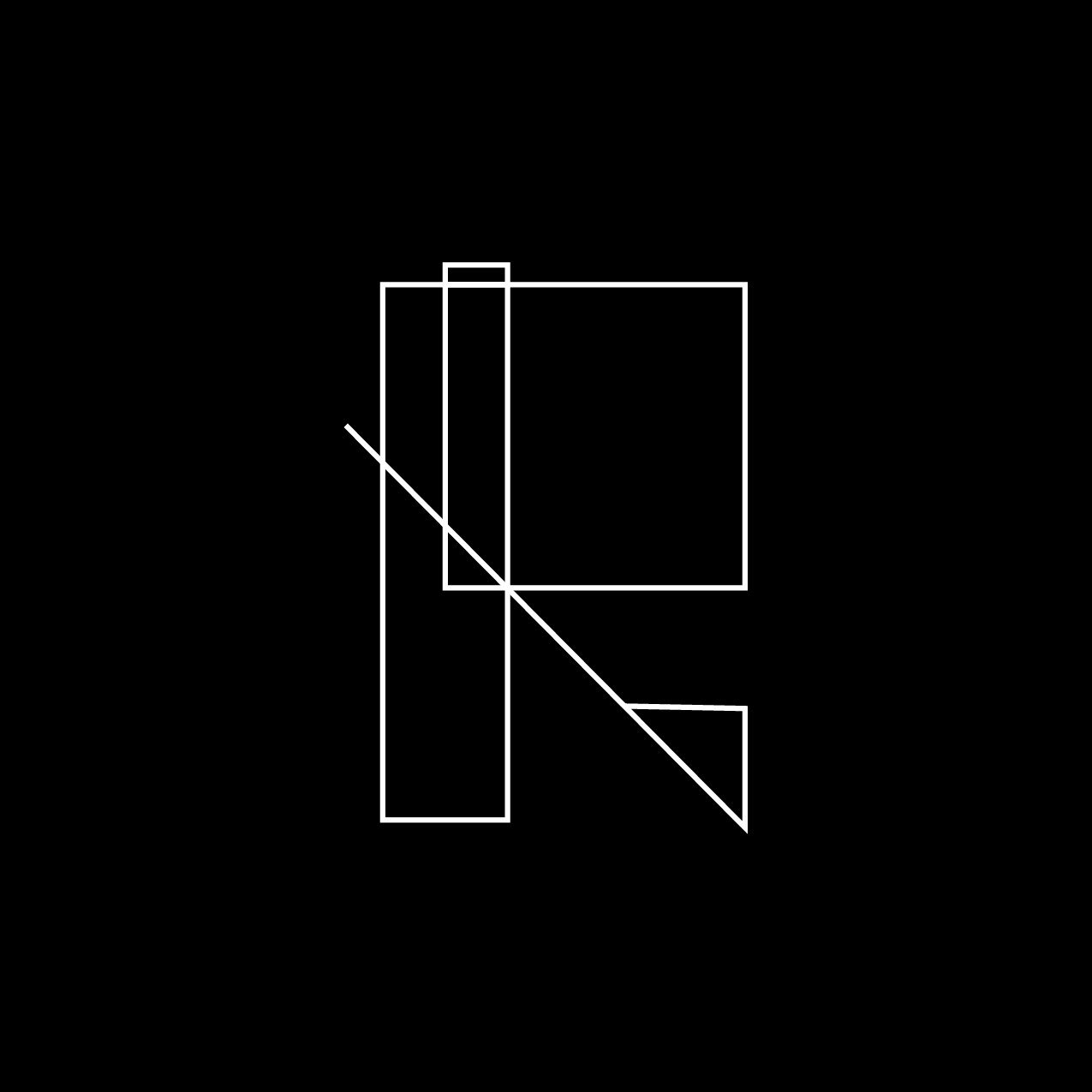 Letter R4 Design by Furia