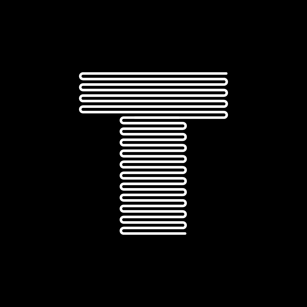 Letter T1 Design by Furia