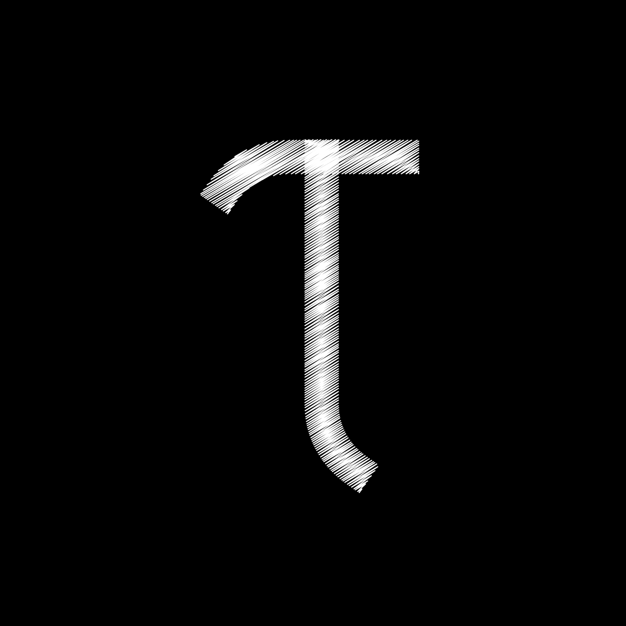 Letter T14 Design by Furia