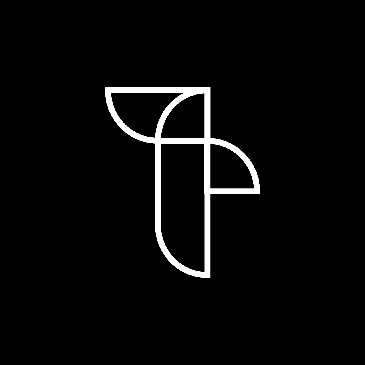 Letter T2 Design by Furia