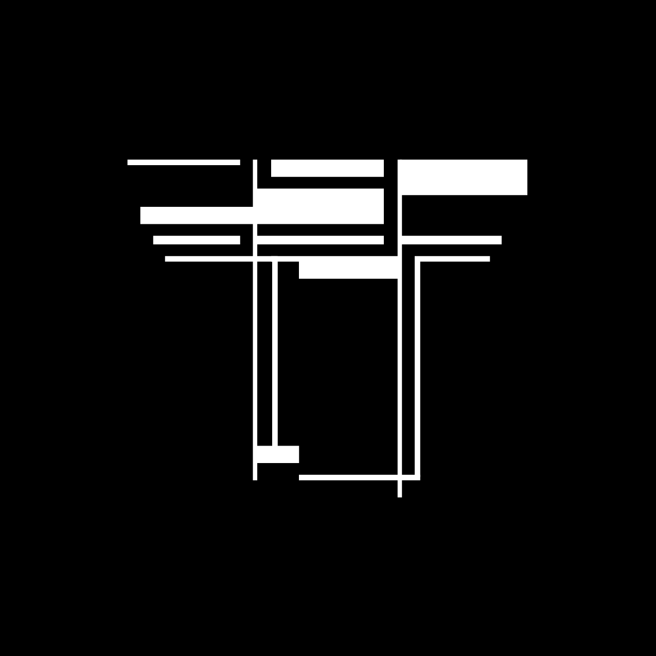 Letter T3 Design by Furia