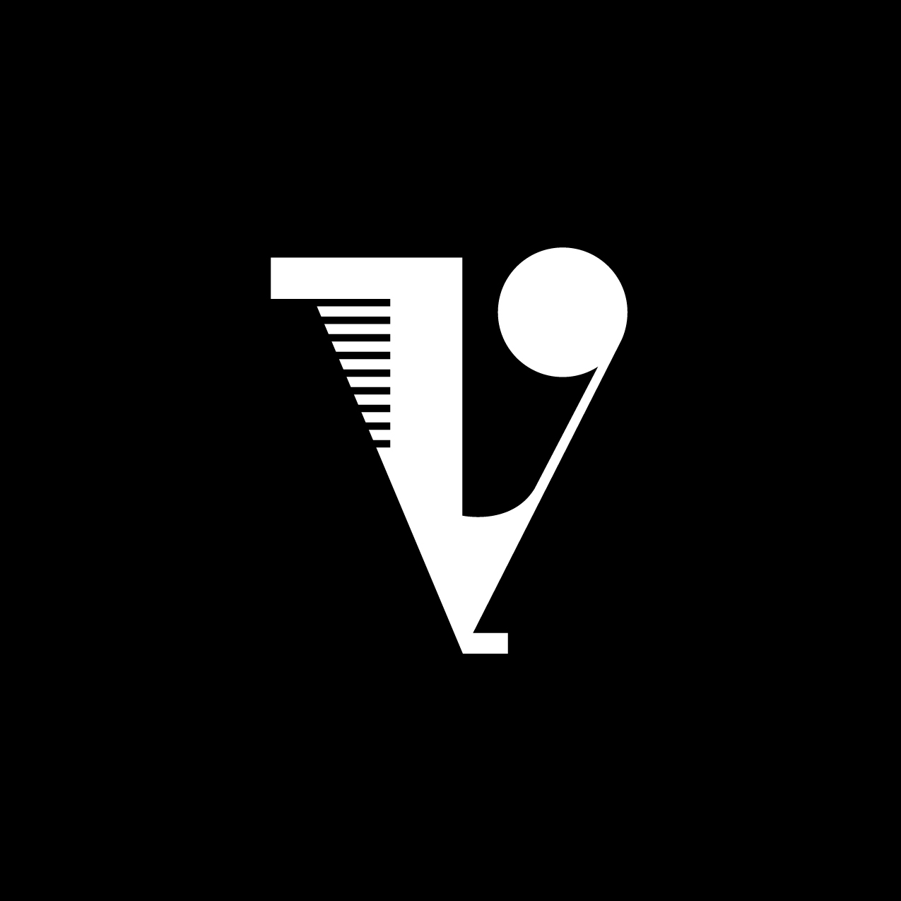 Letter V12 Design by Furia