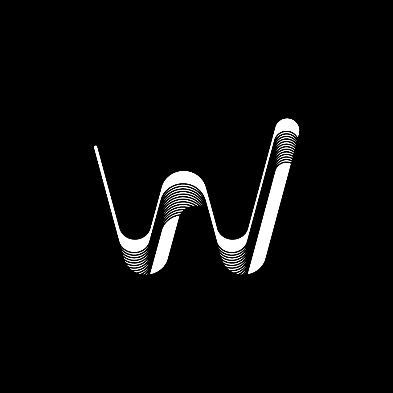 Letter W8 Design by Furia