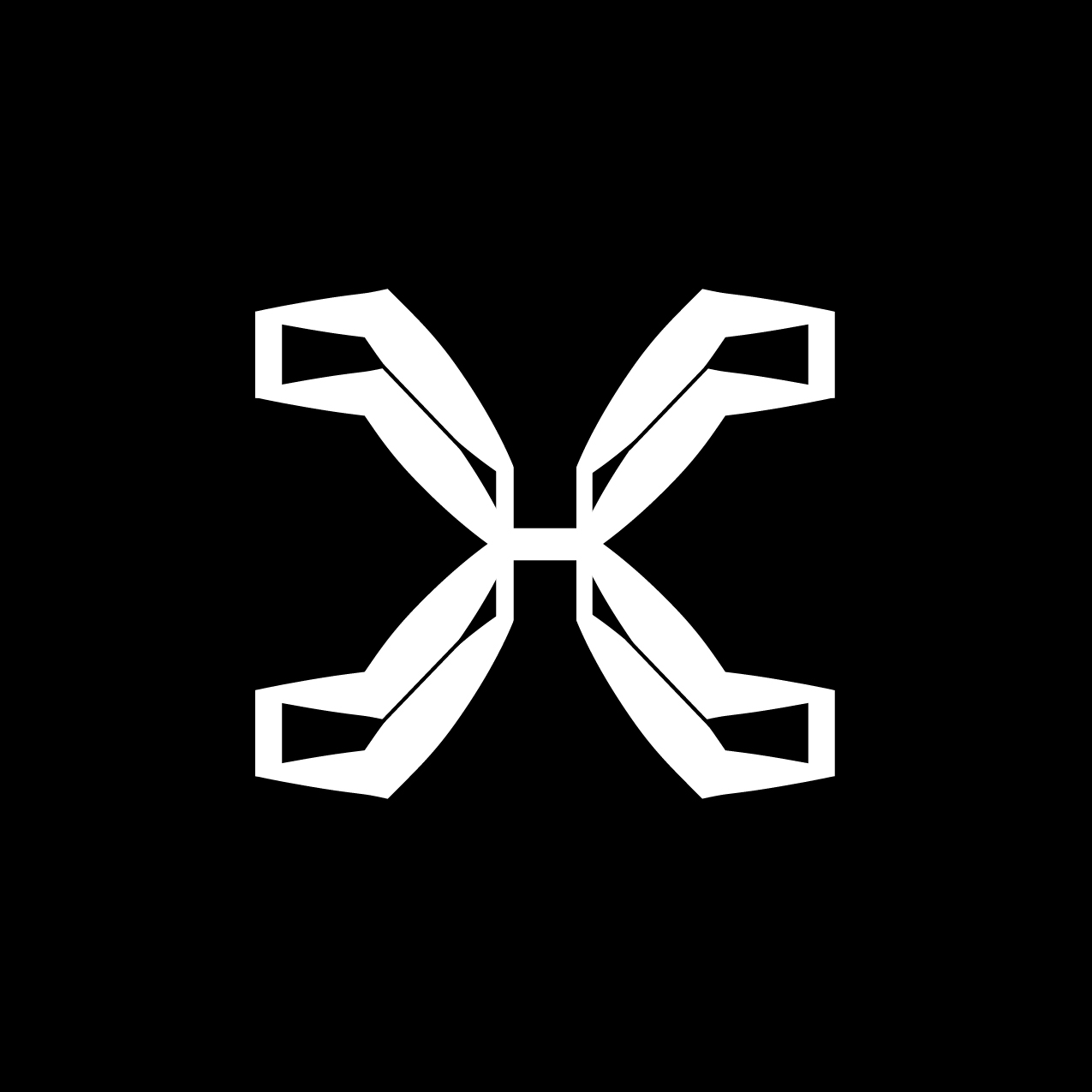 Letter X4 Design by Furia