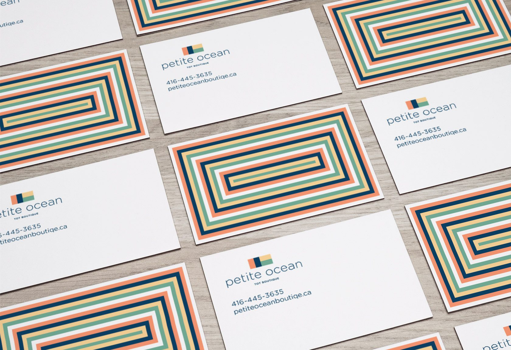 Petite Ocean Business Card Design by Furia