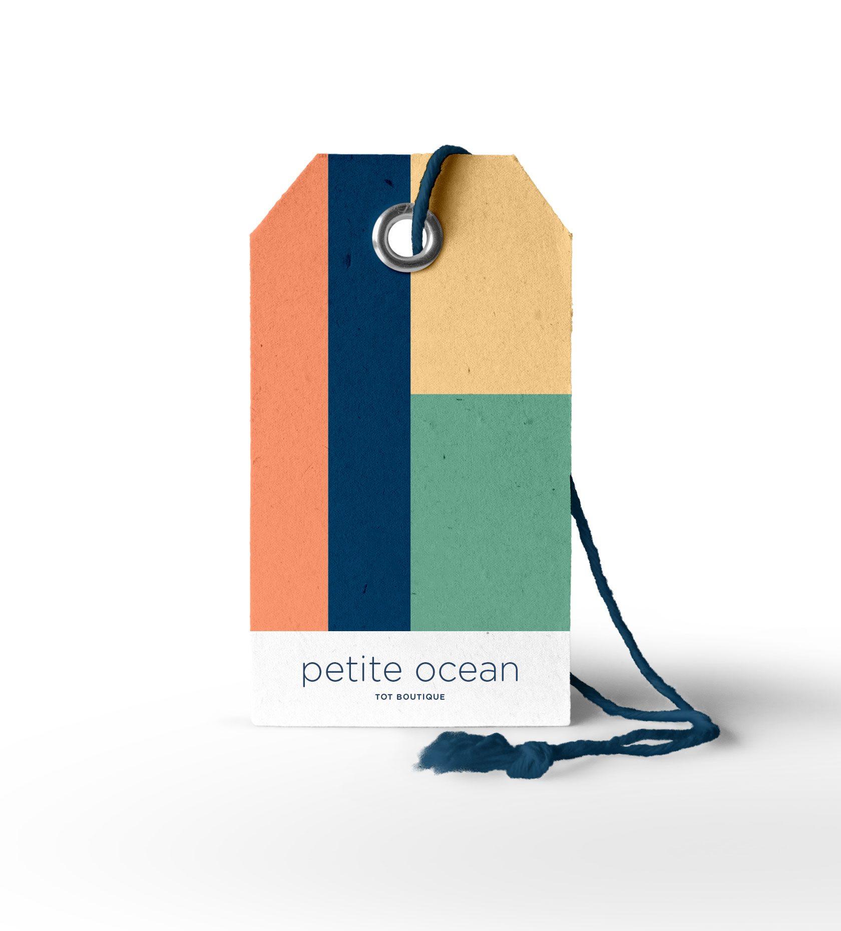 Petite Ocean Clothing Label Design by Furia