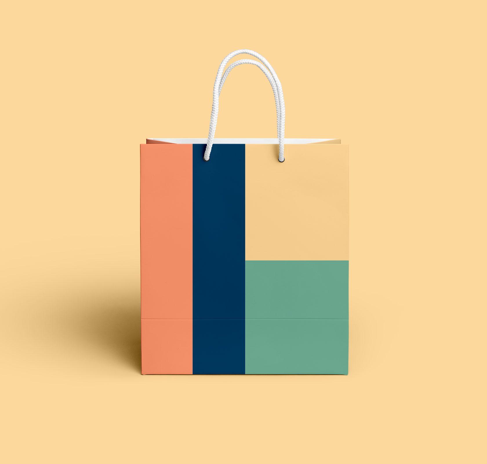 Petite Ocean Shopping Bag Design by Furia