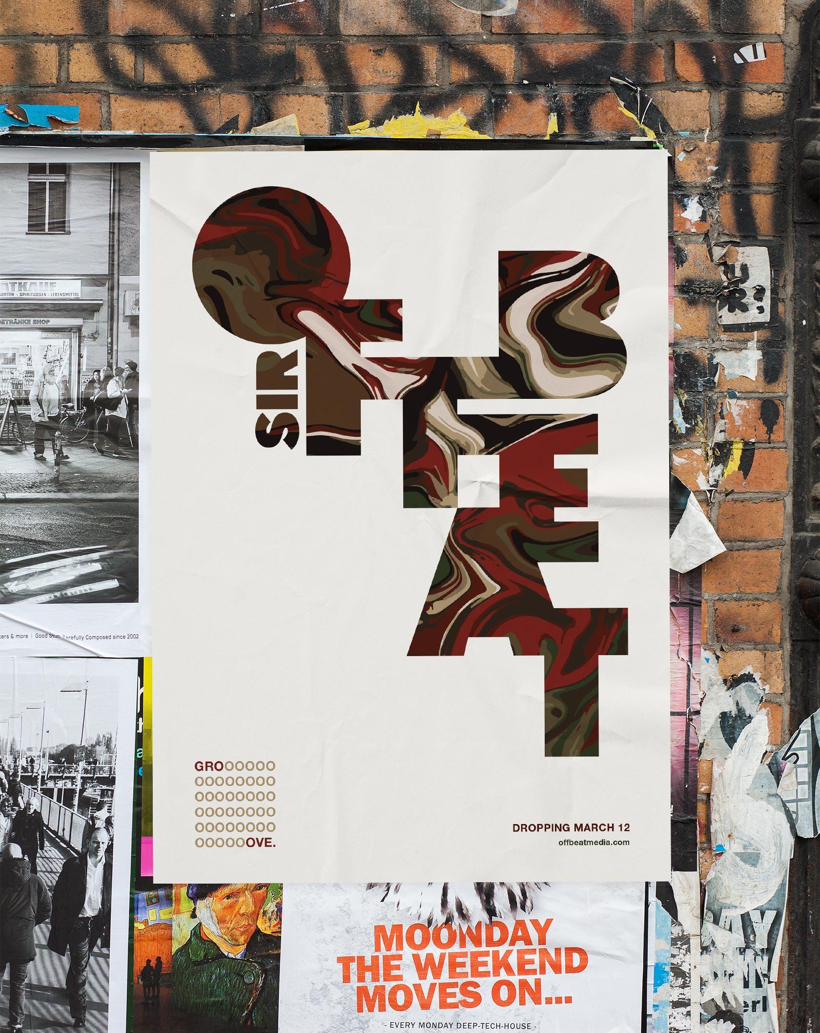 Sir Offbeat DJ Poster Design by Furia
