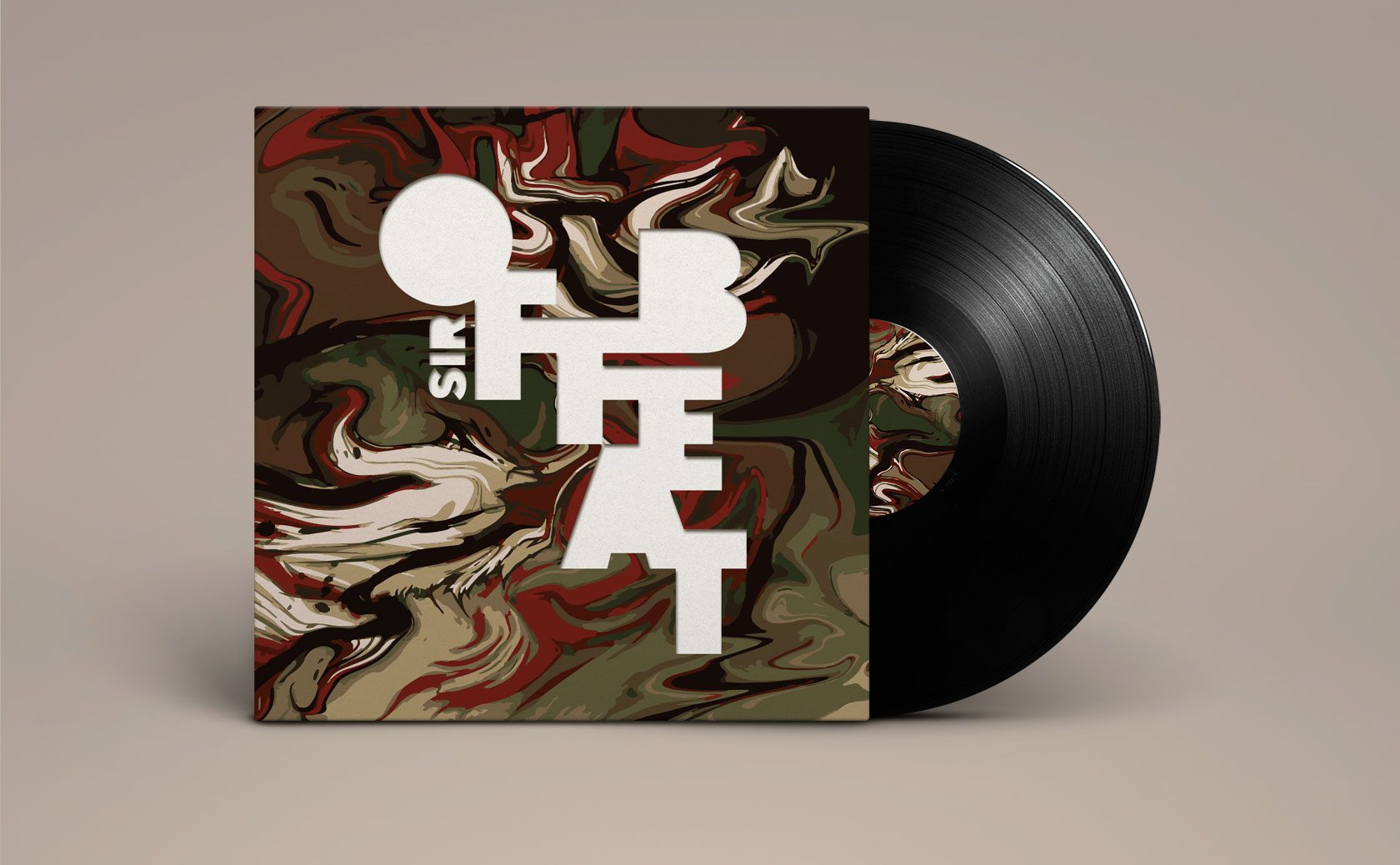 Sir Offbeat Record Cover Design by Furia