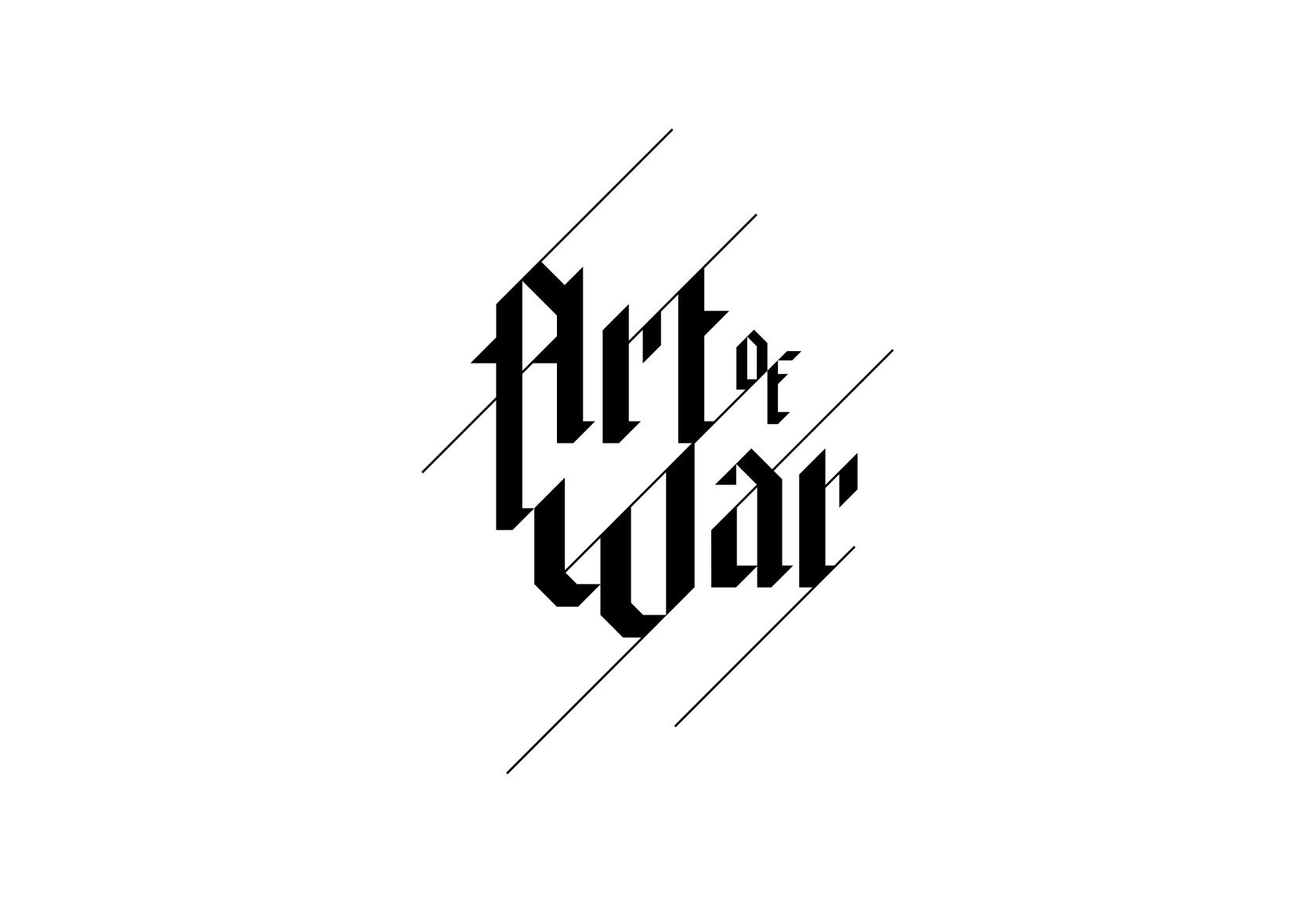 Art of War Logo Identity Design by Furia