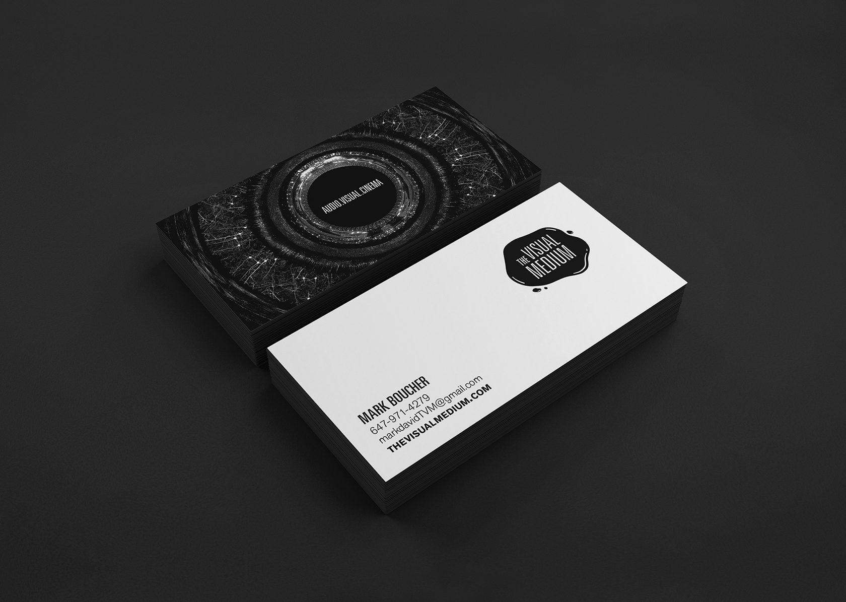 The Visual Medium Business Card Design by Furia