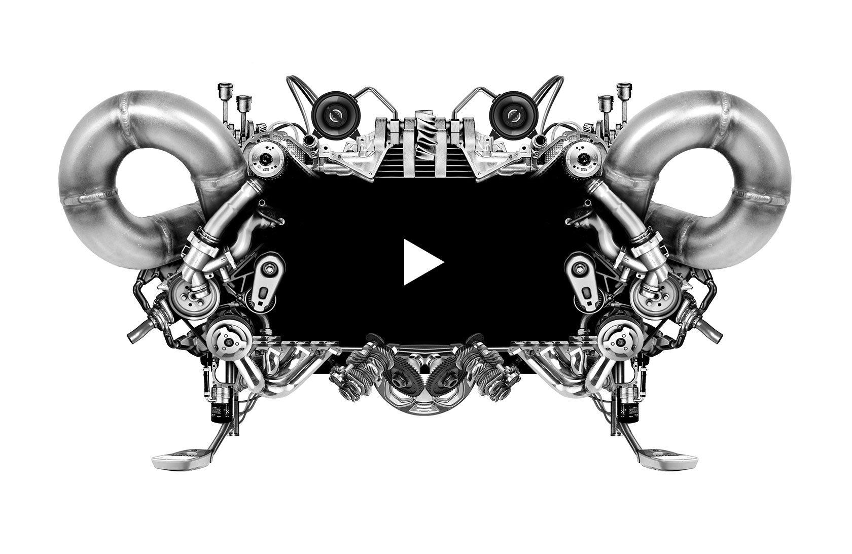 The Visual Medium Media Player Metal Design by Furia
