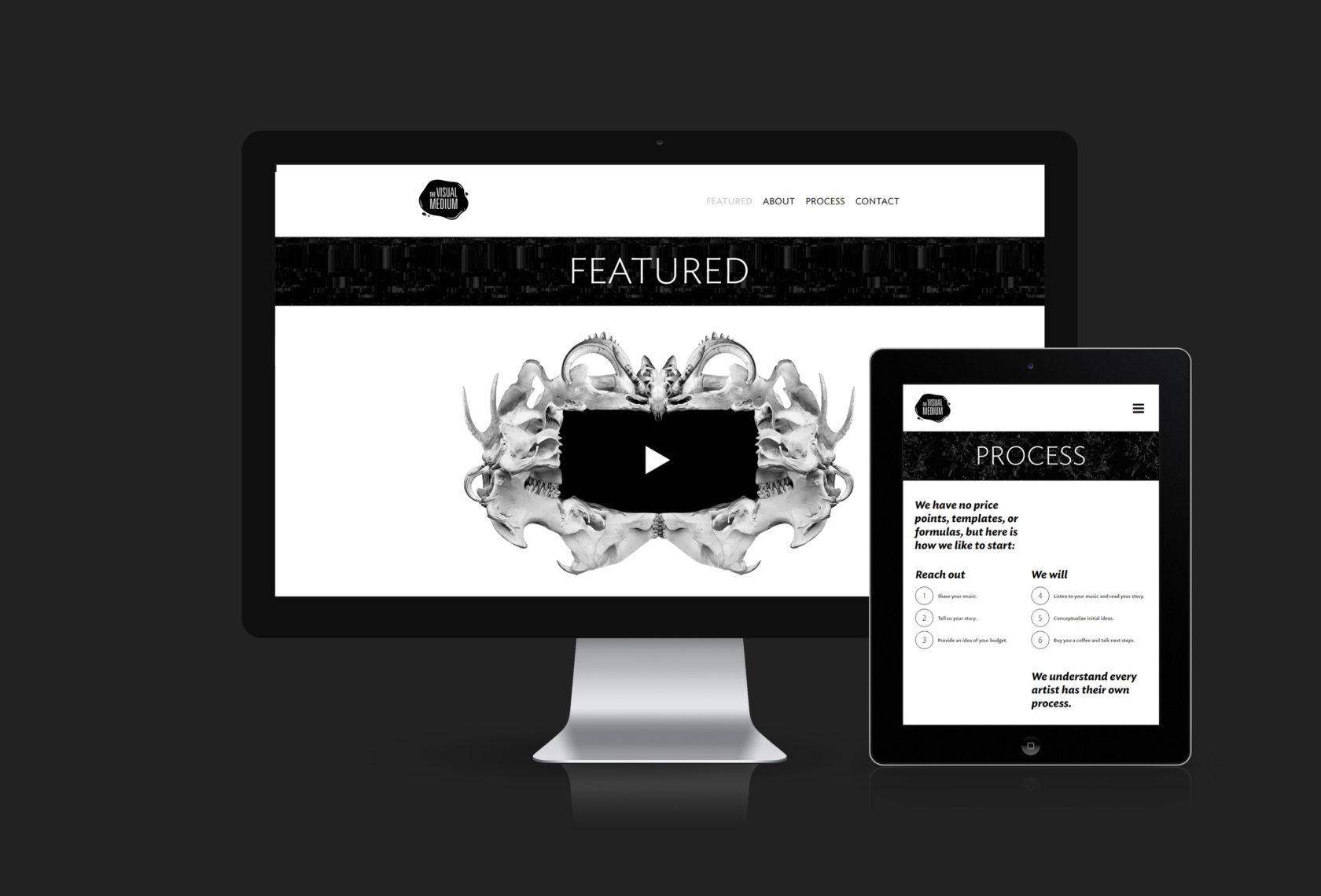 The Visual Medium Website Design and Development by Furia