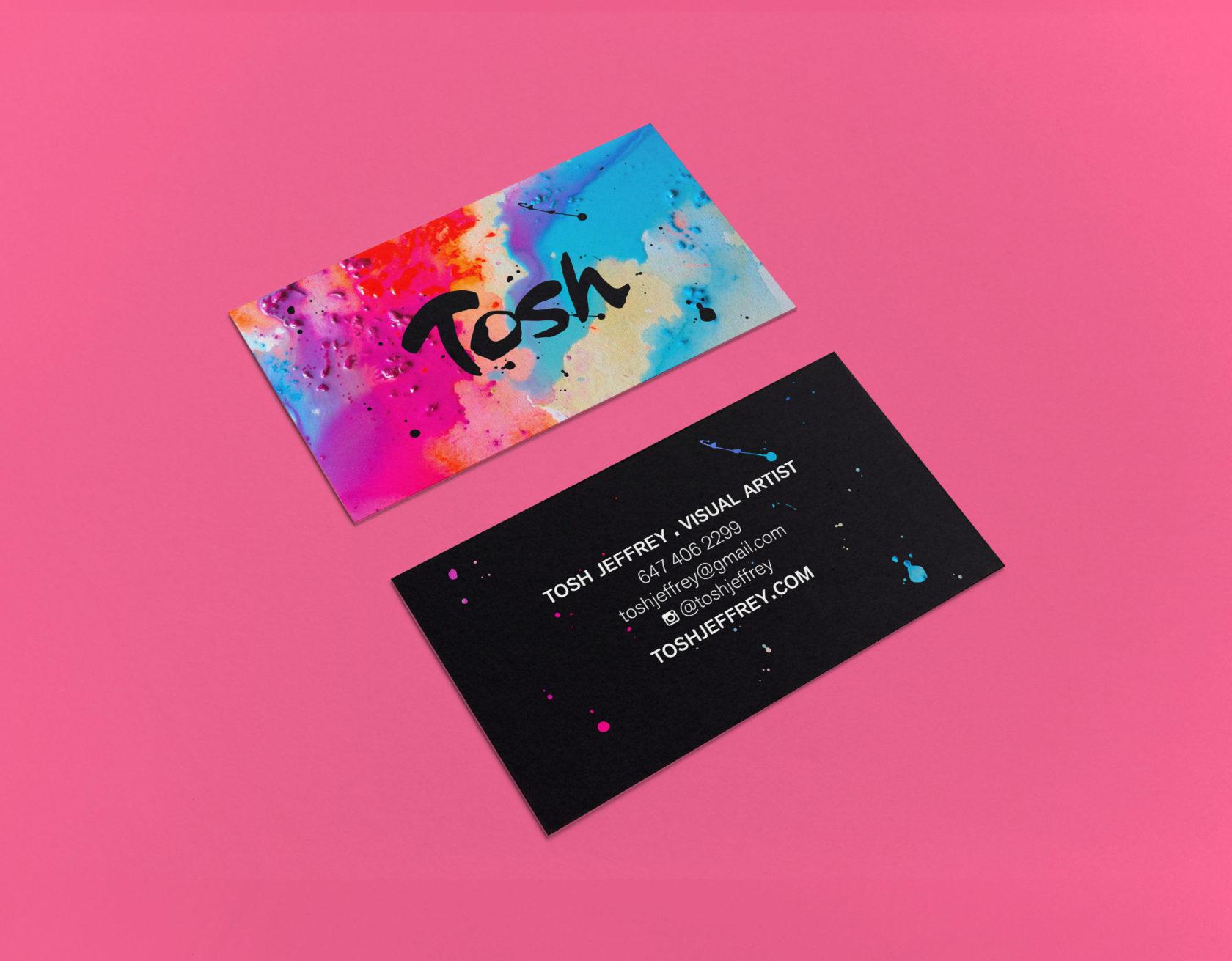 Tosh Jeffrey Business Card by Furia