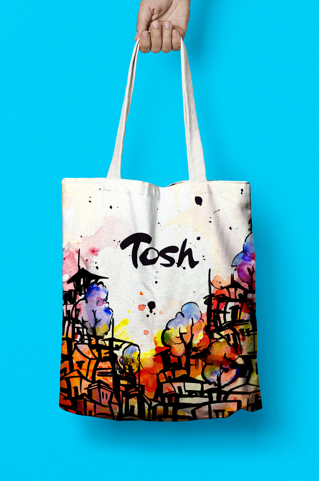 Tosh Jeffrey Tote Bag Design by Furia