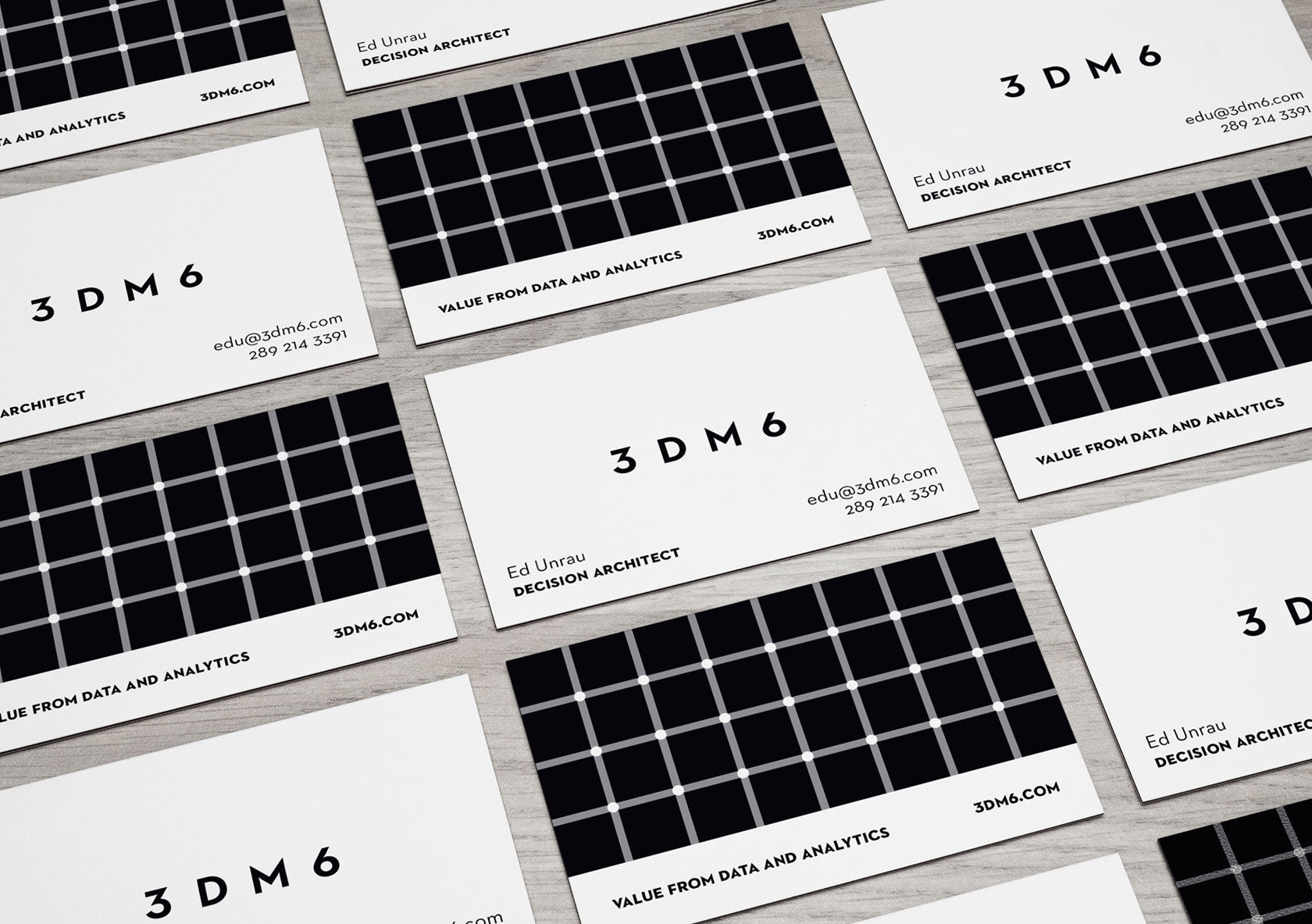 3DM6 Business Card Design By Furia