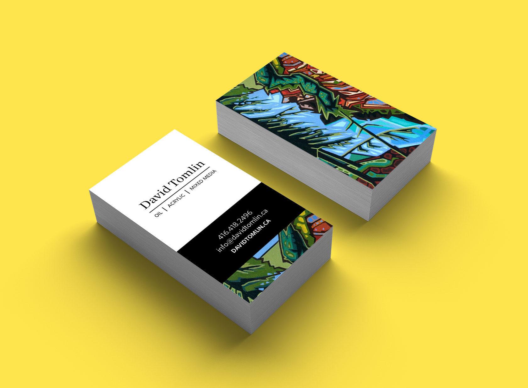 David Tomlin Business Card Design by Furia