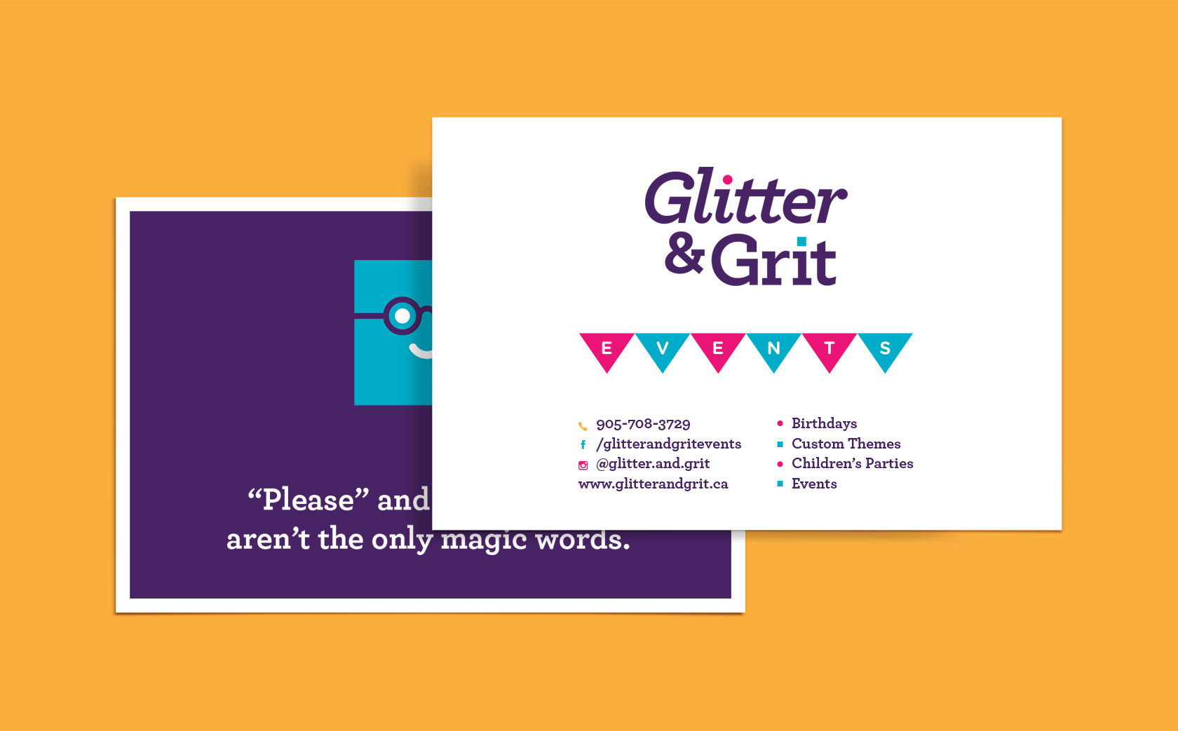 Glitter & Grit Flyer Design by Furia