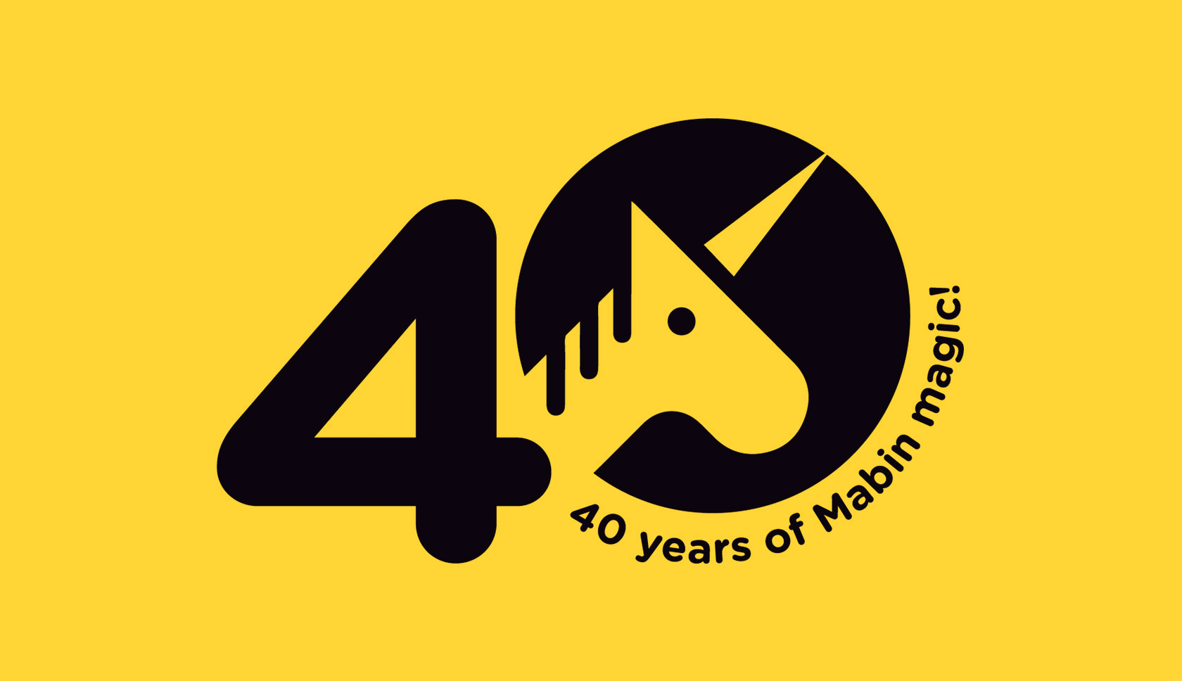 The Mabin School Anniversary Logo by Furia